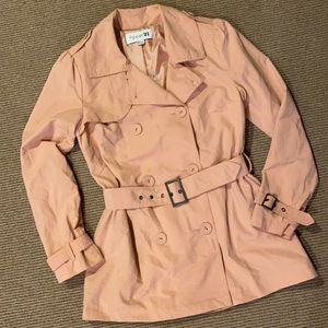 Forever 21.   Belted Trench Jacket
